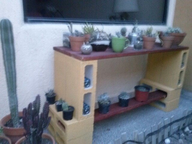 Diy Cinder Block Ideas Shelves Cinder Block Outdoor