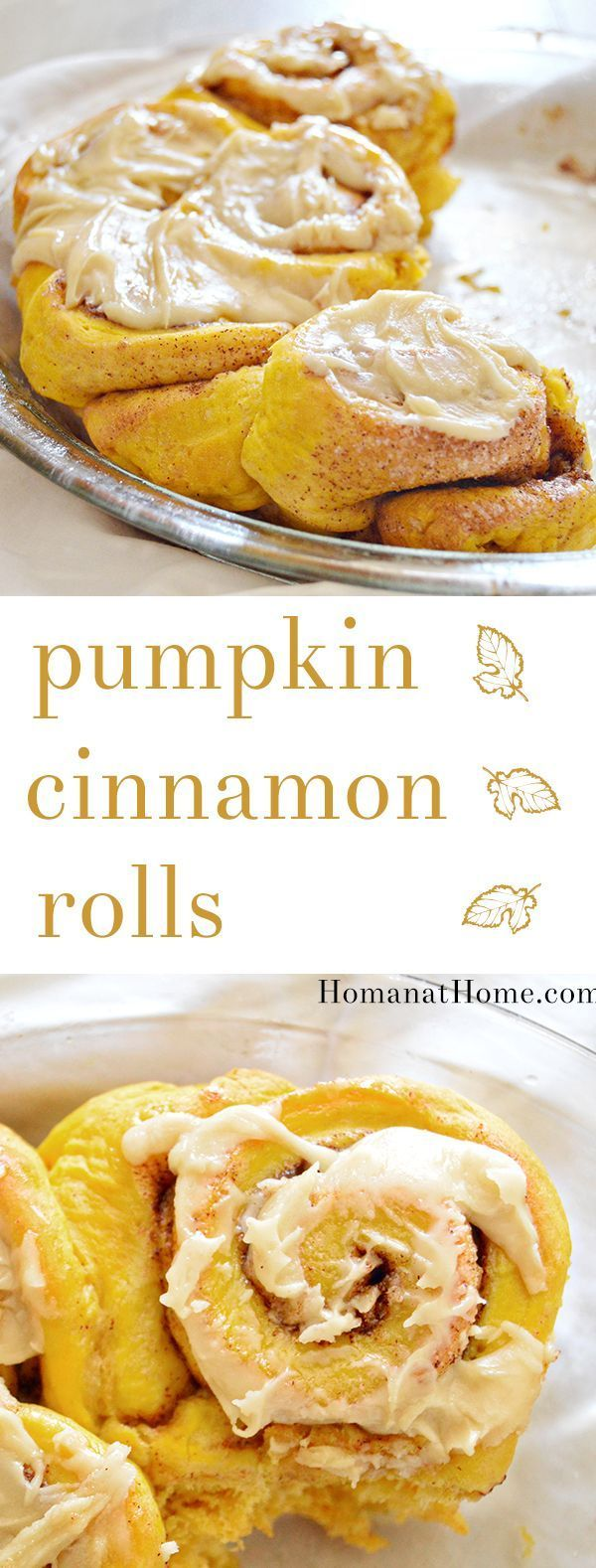 1000+ ideas about Pumpkin Cinnamon Rolls on Pinterest ...