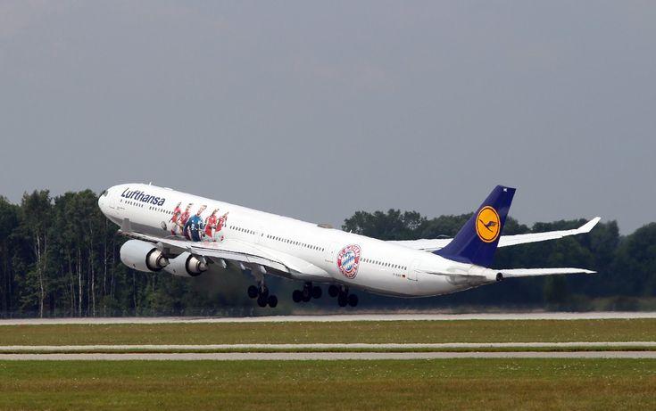 Munchen – Berlin cu Airbus A340-600 Lufthansa