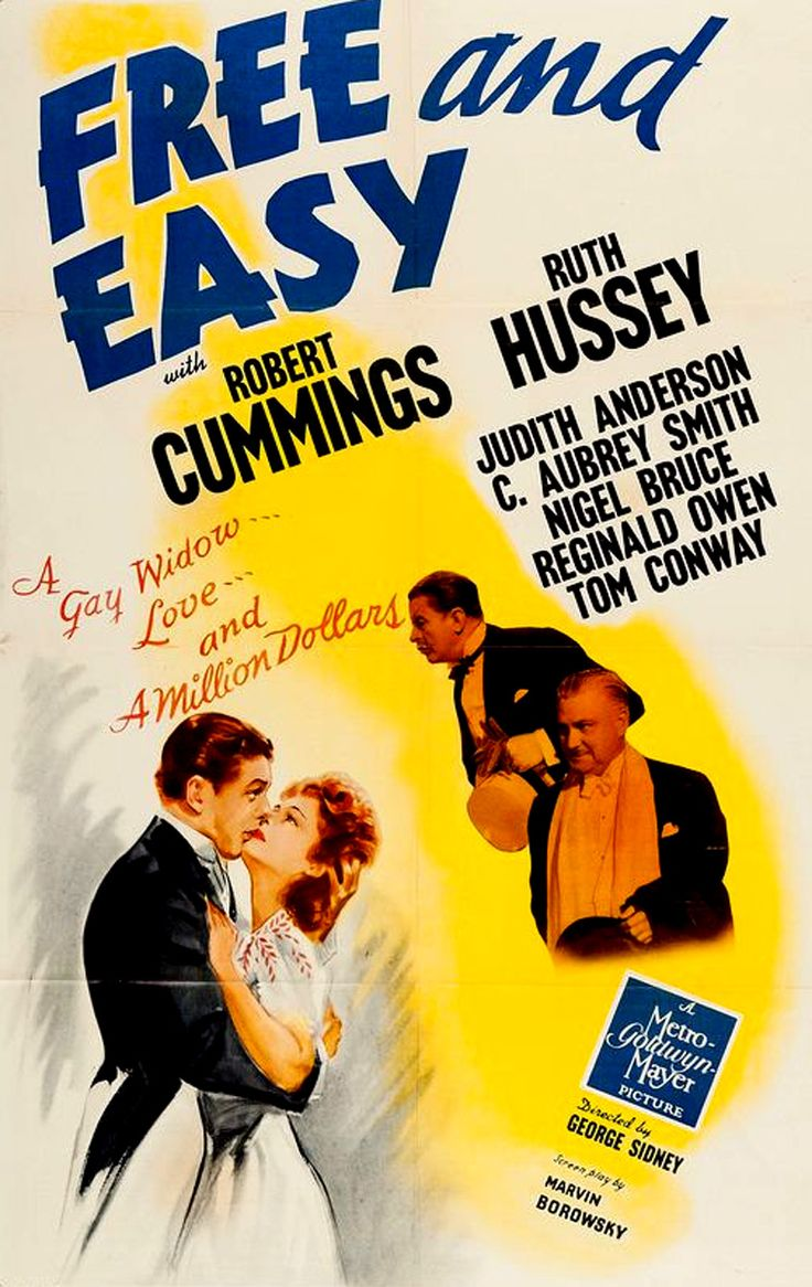 Free And Easy (1941) - Robert Cummings, Ruth Hussey, Judith Anderson
