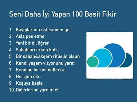 seni daha iyi yapan 100 basit fikir