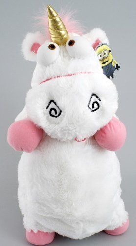 Despicable Me Its So Fluffy Agnus the Unicorn 22 Plush Pillow Doll Children Kids Game @ niftywarehouse.com #NiftyWarehouse #DespicableMe #Movie #Minions #Movies #Minion #Animated #Kids
