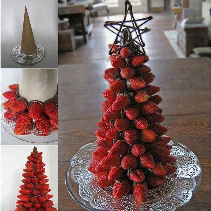 arbolito de fresa