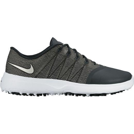 Black/White/Metallic Silver  Nike Ladies Lunar Empress 2 Golf Shoes | via @lorisgolfshoppe
