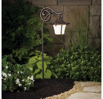pathway lighting ideas. view the kichler 15420 cotswald 116w low voltage path u0026 spread light with weathered white pathway lighting ideas