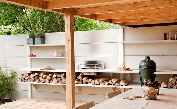 Modular Outdoor Kitchen With Shower on http://www.urbangardensweb.com