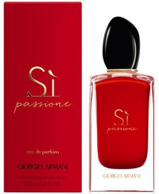 f1624a6c316 Giorgio Armani Si Passione Eau de Parfum Spray