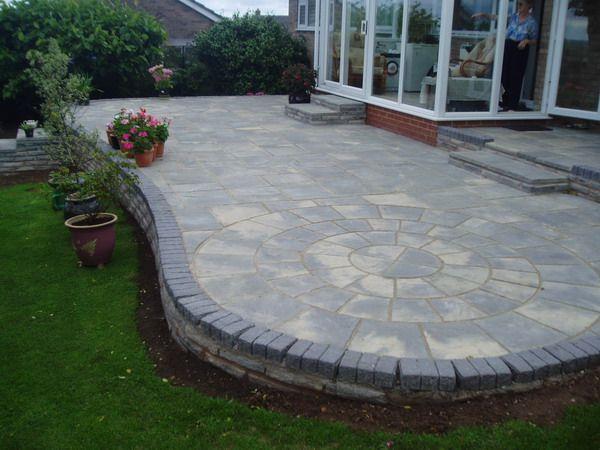 11 best garden ideas images on pinterest | garden ideas, terrace ... - Patio Slab Ideas