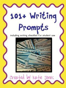 handbag handbag 101 Writing Prompts with writing checklist