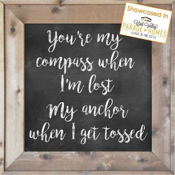 You're My Compass - Eric Church - The Woods Barn