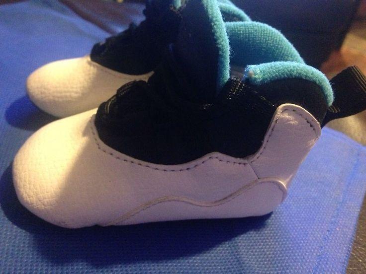 Nike Air Jordan RETRO X 10 POWDER BLUE Boys Infant Crib