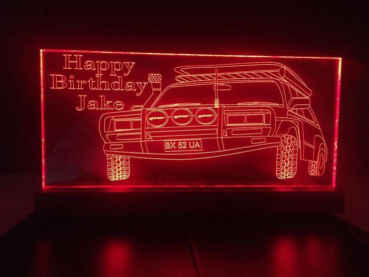 Nissan Patrol LED light