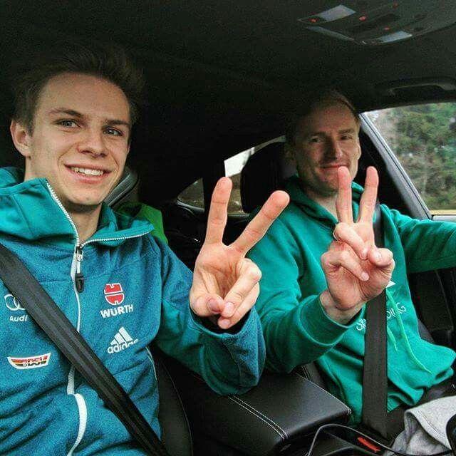 Andreas Wellinger und Severin Freund