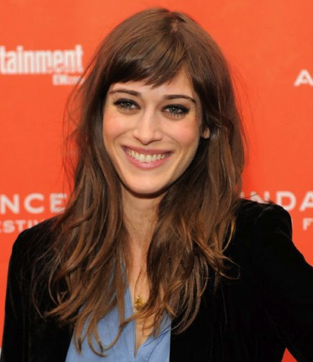 long hair with bangs (this is Janis Ian from Mean Girls in case you didn't know she's flawless)