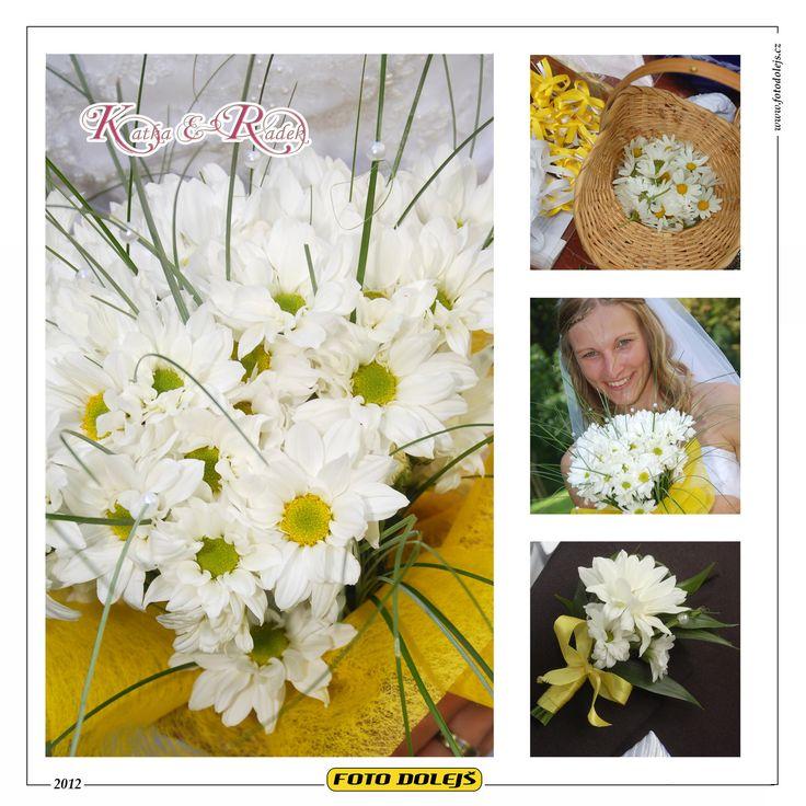 Katka a Radek, svatební květiny