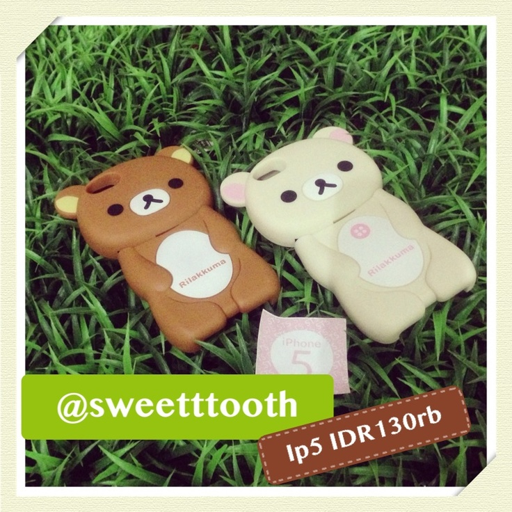Rilakkuma iphone 5 case, IDR130.000