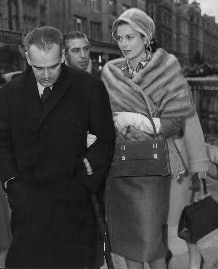 Princess Grace and Prince Rainier of Monaco                              …