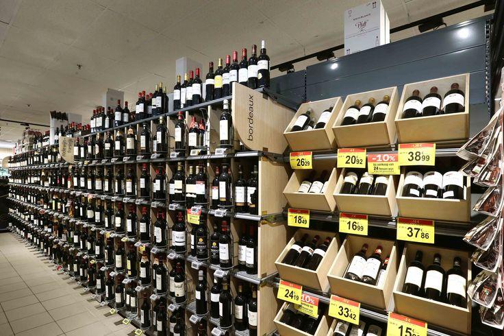 mobilier standard et spécifique, mobilier vins, mobilier grande distribution