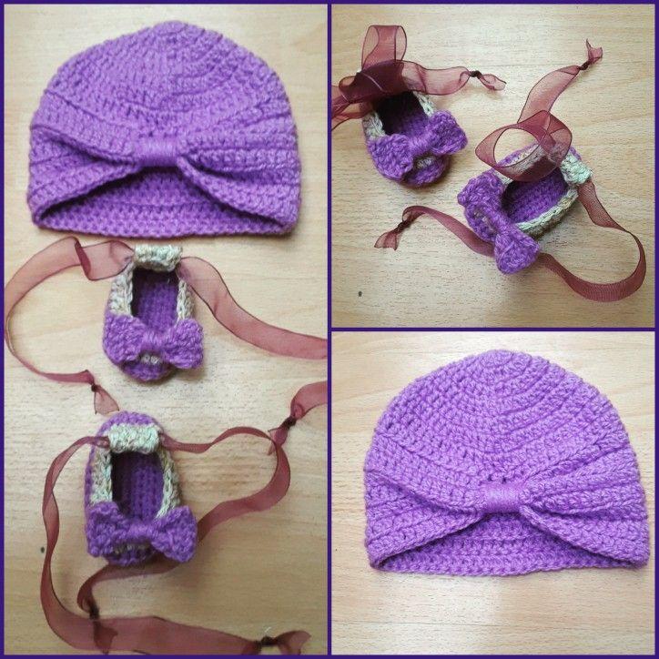 Conjunto niña en crochet #AnyelikoCreaciones #crochet