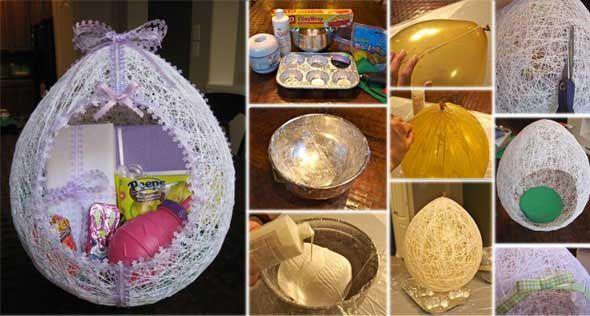 Velikonocni vejce z vlny na dobroty