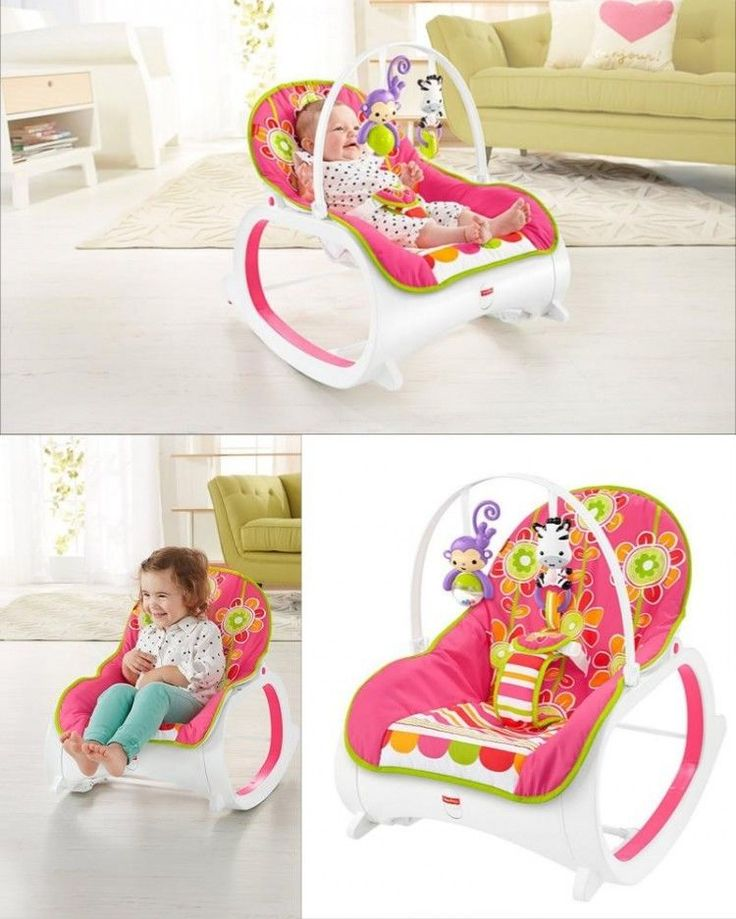 Baby Rocker Seat Vibrating Bouncer Infant Sleeper Toddler Feeding Chair Play Toy #BabyRockerSeat