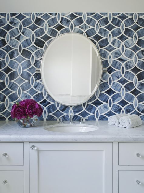 Polly Mosaic Beau Monde Collection Ann Sacks Lizette Marie Interior Design