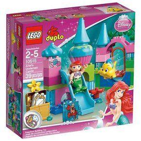 Duplo Disney Princess - Le château de la Petite Sirène - 10515 - Lego NEUF à 47,00 € chez eBay #lego #duplo #jouet