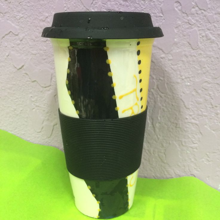 Travel Mug Coffee Mug Ceramic Pottery Paint Your Own