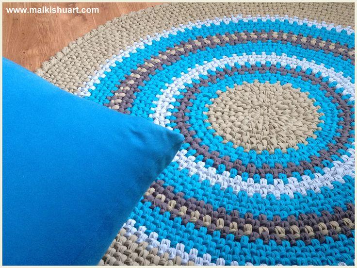 How To Crochet This Rug Vod Vimeo Hebrew Crochet Yarn