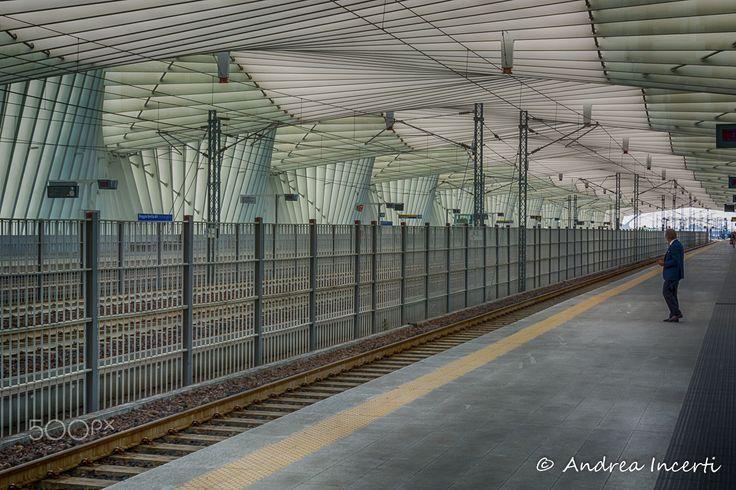 Railway station - Railway station