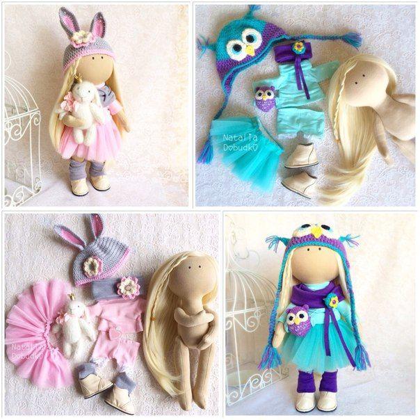 Текстильная кукла - Ярмарка Мастеров - ручная работа, handmade