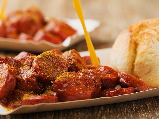 rezept berliner currywurst selber machen essen pork. Black Bedroom Furniture Sets. Home Design Ideas