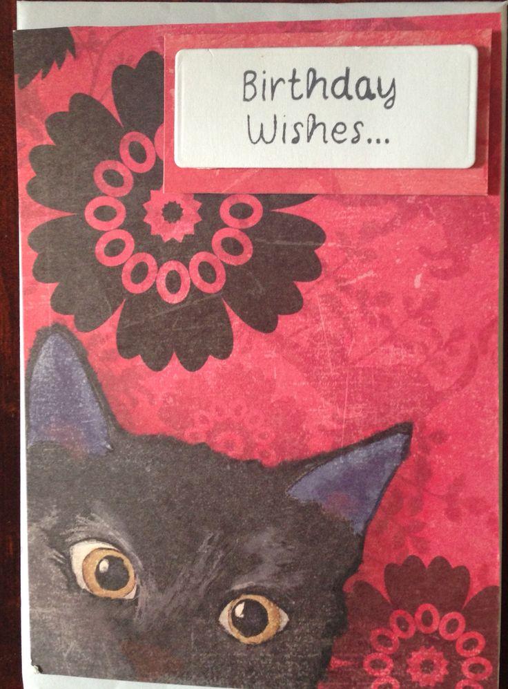 Cat Card Andrea Bruce