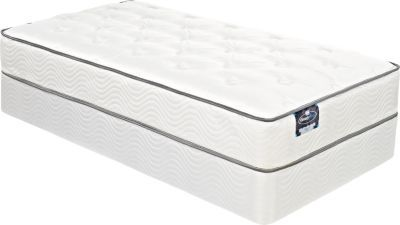 Shop for a Simmons® BeautySleep® Tangerine™ Low Profile FullMattress Set at Rooms To Go Kids. Find  that will look great in your home and complement the rest of your furniture.