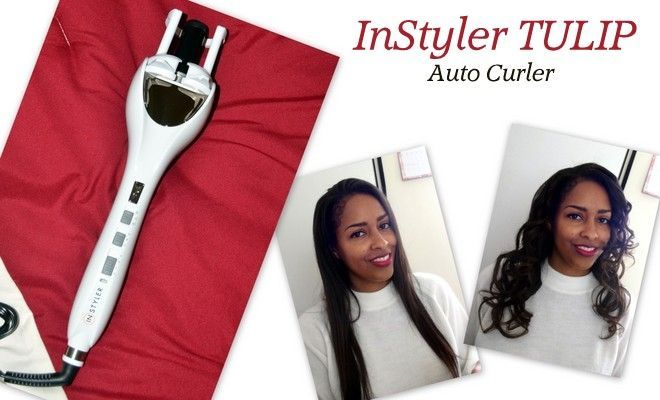 Quick Easy Curls With InStyler Tulip Auto Hair Curler via @minaslater #RSVPInStyler #gotitfree