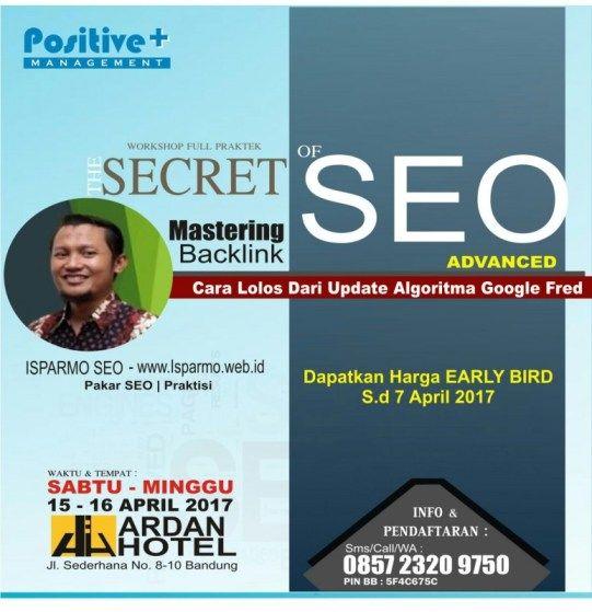 Pelatihan Kursus Internet Digital Marketing SEO di Bandung 2017