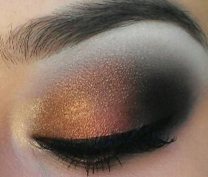 Antique Bronze: Eye Makeup, Color, Holidays Looks, Makeup Ideas, Holidays Ideas, Eyeshadows, Antiques Bronze, Halloween Ideas, Wedding Eye
