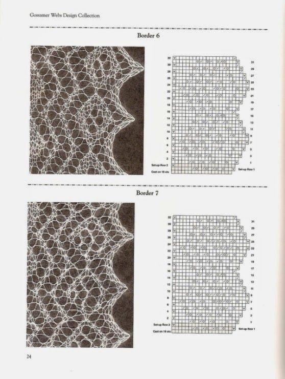 Barrados de Croche: Barrados de Tricot