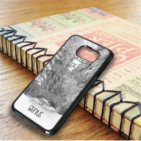 Winter Quotes Samsung Galaxy S6 Edge Plus Case