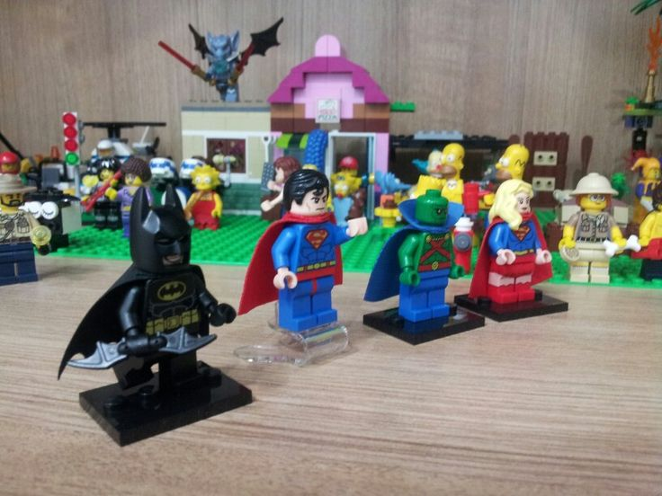 #Lego #Superman #Batman #Supergirl #TheMartianManHunter
