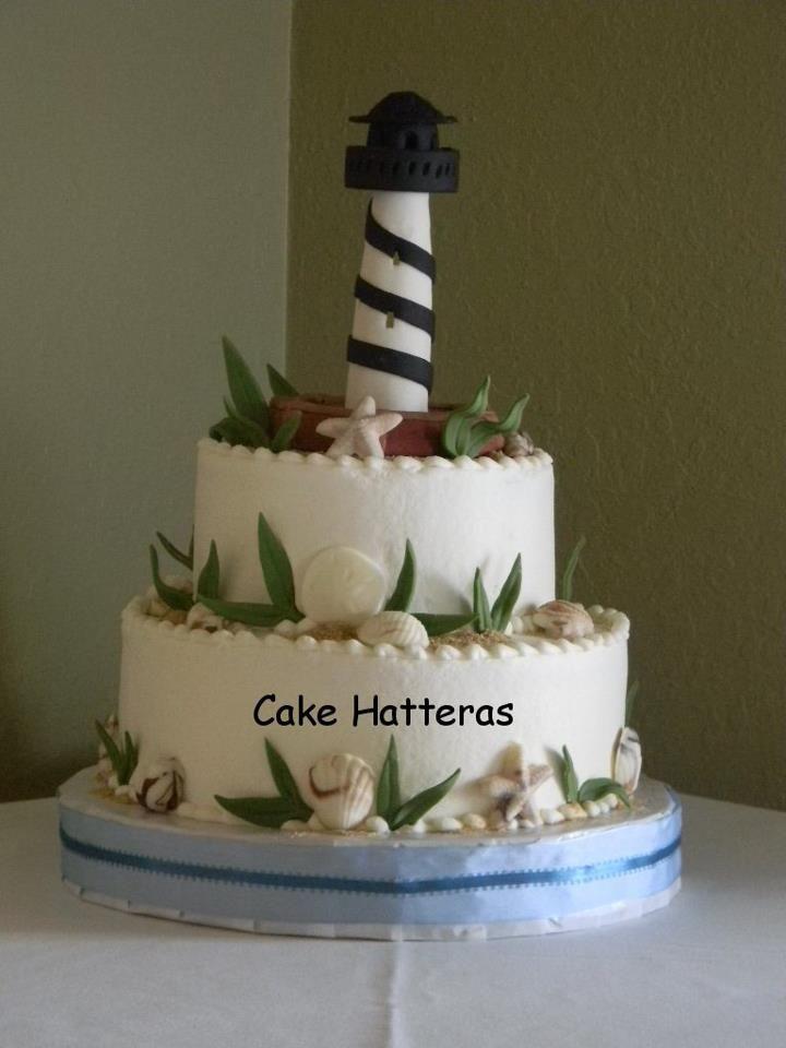 Wedding Cakes: Cake Hatteras- Hatteras NC