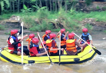 Neilstha Firman: Taken from the Cisadane river bank, Bogor.