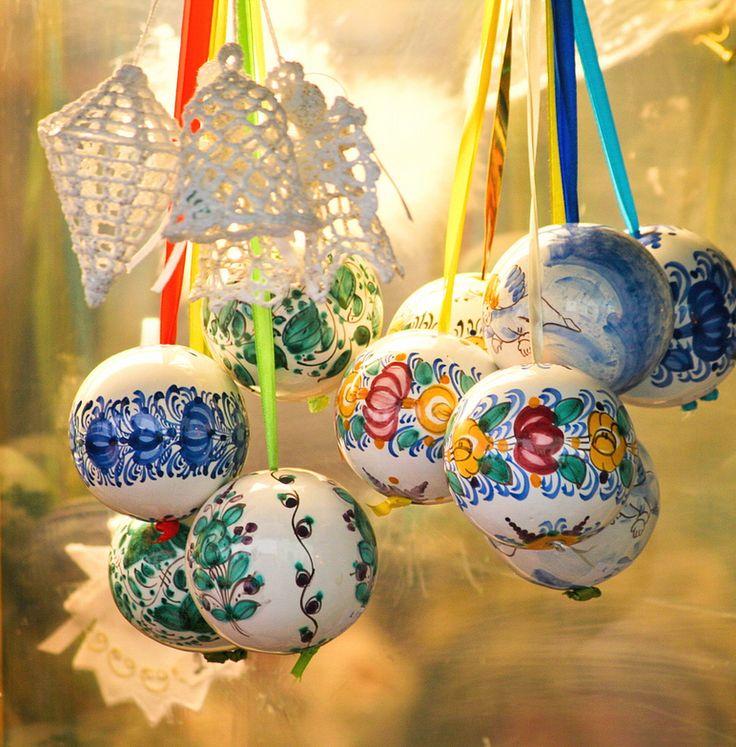 . Slovak Modra Christmas Decoration