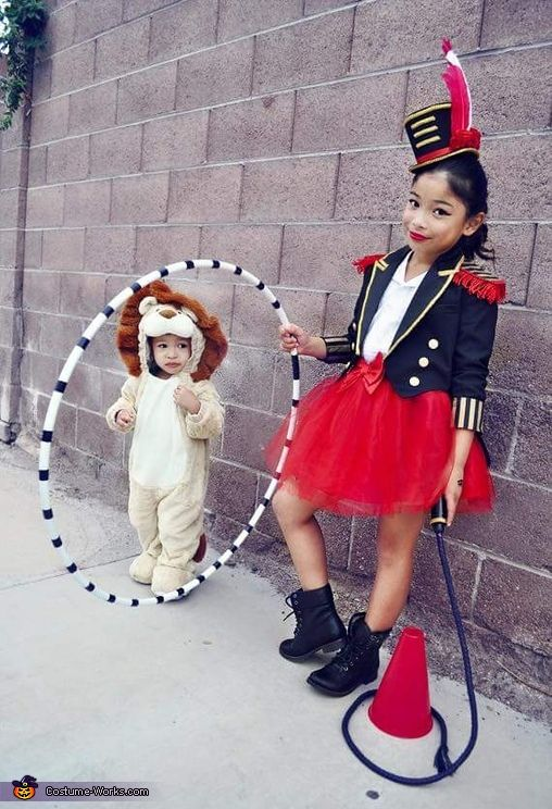 Circus Ringmaster Lion Tamer - Halloween Costume Contest via @costume_works