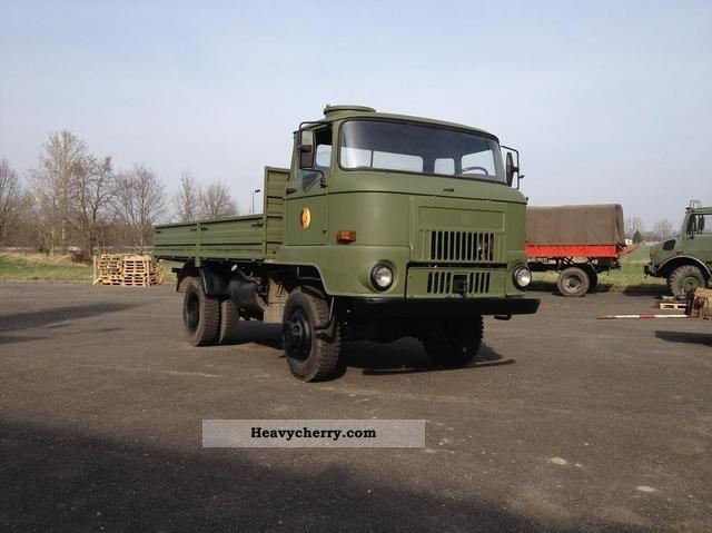 truck nva | 1989 Other IFA L60 NVA Platform Truck over 7.5t Stake body photo