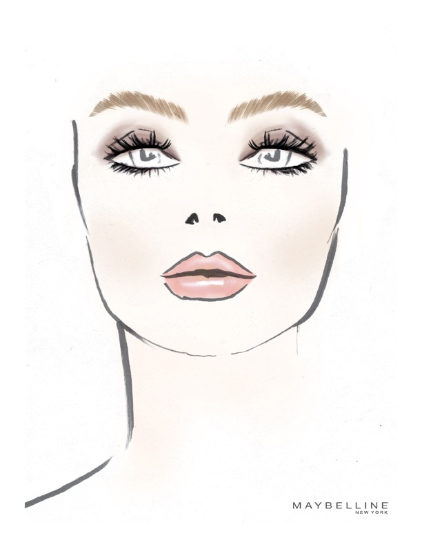 Makeup Drawing: 45 Best Images About Makeup Sketches On Pinterest