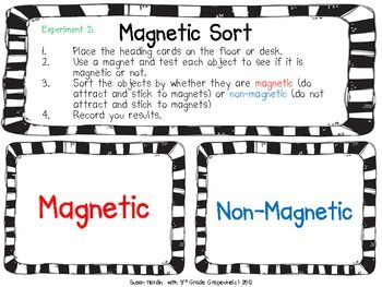 This Is One Of 5 Experiments In My Complete Product Titled Magnets