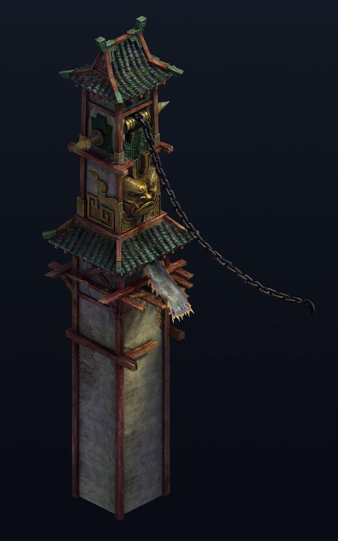 Tower, wan kang on ArtStation at https://www.artstation.com/artwork/v2ZOY