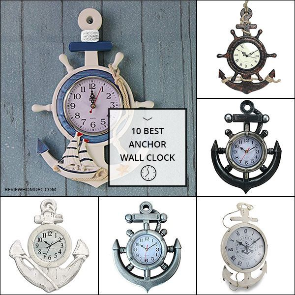 10 Best Anchor Wall Clock Wall Clock Clock Wheel Decor
