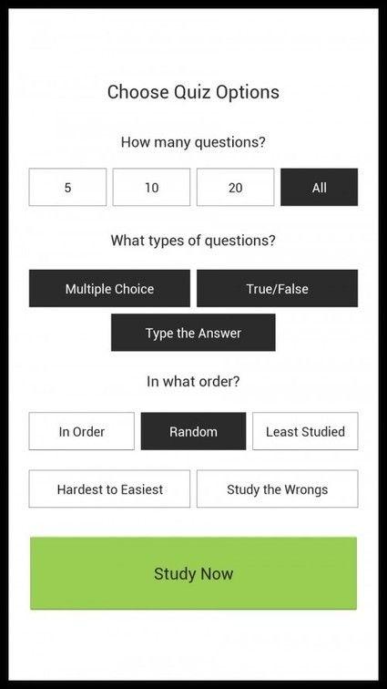 As 3 Melhores Flashcards Apps para Estudantes | Edudemic